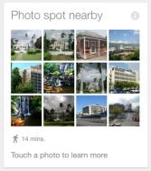 a Google card