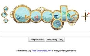A Google doodle